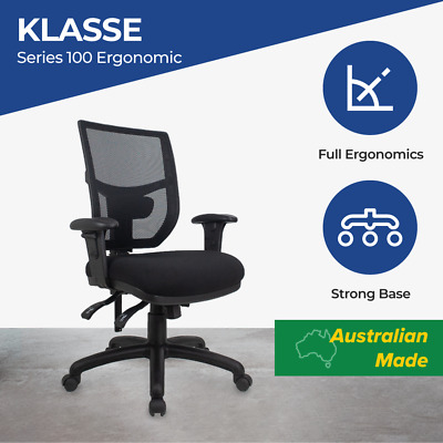 Office Chair Fully Ergonomic Mesh Back Lumbar Home Series100 NEW Computer Chairs