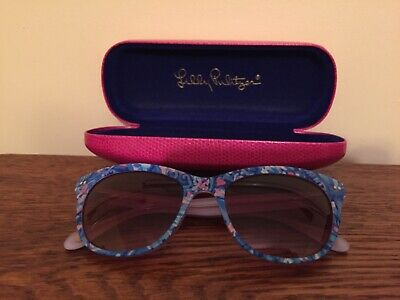 "Lilly Pulitzer ""Miraval"", Women's Sunglasses, 55/18 with case"