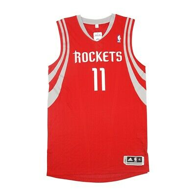 Yao Ming Adidas Houston Rockets Authentic On-Court Rev 30 Road Red Jersey XL