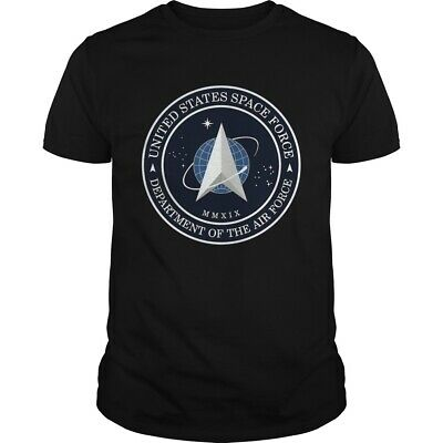 United States Space Force Department T-Shirts Size S-3XL US 100% cotton hot 2020