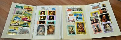 ussr box stamps collection russia lot worldwide album train technician picture