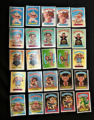 Garbage Pail Kids Series 2,3, And 4 Complete Sets 1985, 1986 Nrmt 257 Card Total