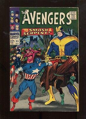 The Avengers #33 (7.0) To Smash A Serpent