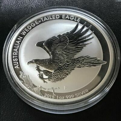 2015 Australian Wedge-Tailed Eagle 1oz 9999 Silver Coin BUnc Investment Silver