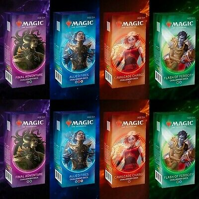 Magic The Gathering Challenger Deck 2020 Box 8 Mazzi - Nuovo Eng