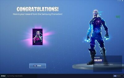 Fortnite Skin Galaxy [Only Pc]