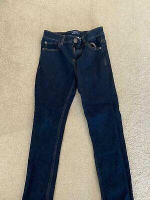 Boys Blue Denim Skinny Jeans aged 12 from NEXT Good Condition