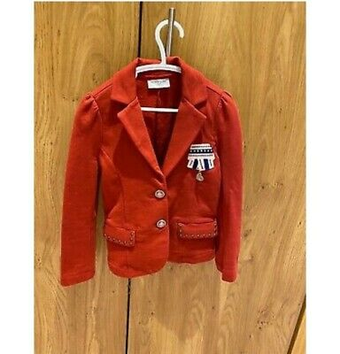 Red Monnalisa Jacket, Age 5 Perfect condition