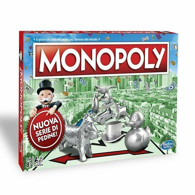 Monopoly Rettangolare Hasbro Gaming - D98662 Giodicart