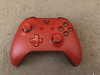 Microsoft Xbox One Wireless Controller - Red (Un Tested)