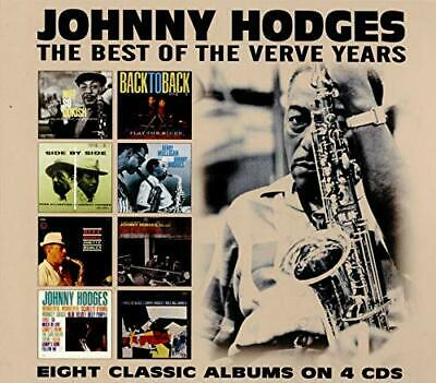 Johnny Hodges - The Best Of The Verve Years (4 Cd) CD NEW