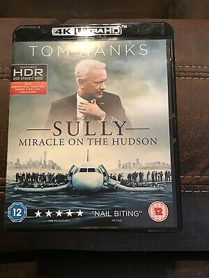 Sully: Miracle On The Hudson [2016] (4K Ultra HD + Blu-ray) Tom Hanks