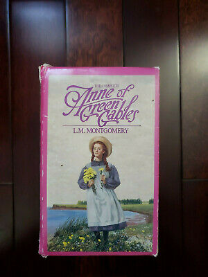 Anne Of Green Gables Complete Set 8 Books By L.M. Montgomery