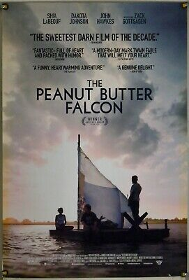 The Peanut Butter Falcon Ds Rolled Orig 1Sh Movie Poster Dakota Johnson (2019)
