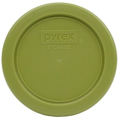 Pyrex 7202-PC Olive Green Plastic Replacement Storage Lid Cover