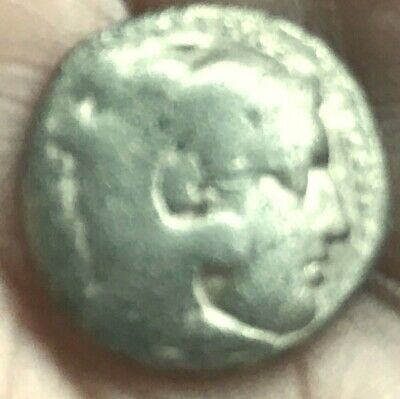 Authentic Alexander III The Great-AR Silver-Plated Drachm-336-323 BC