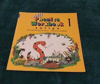 Vintage Jolly Phonics Workbook Home School Learning Activity Book
