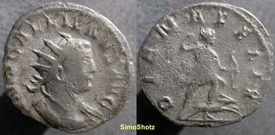 Ancient Roman Coin - Antoninianus of Gallienus - Joint Reign - Diana Reverse