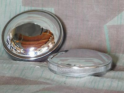 Stock Style Gas Cap Set Vented and Non-Vented for Harley Shovelhead 73-82