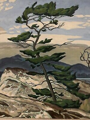 """THE MOST FAMOUS CDN PAINTING WHITE PINE"""" By A J CASSON)THE GROUP OF SEVEN) REPRo"""