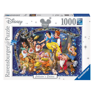 Disney - Snow White and the Seven Dwarfs - Ravensburger 1000pce Puzzle - Loot -