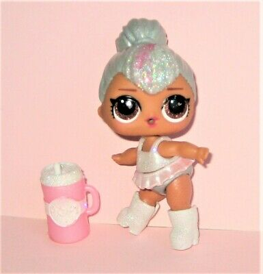 """LOL Surprise KITTY QUEEN Glam Glitter Big Sis SPARKLE Series 3"""" Doll, Cup Lot 84"""