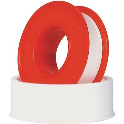 Harvey 1/2 In. x 520 In. White Thread Seal Tape 017117-350H  Pack of 25