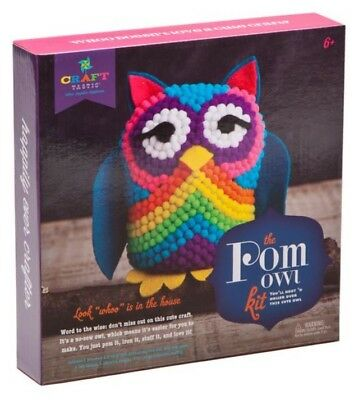 Kids Craft Set-The Pom Owl Kit-Ann Williams