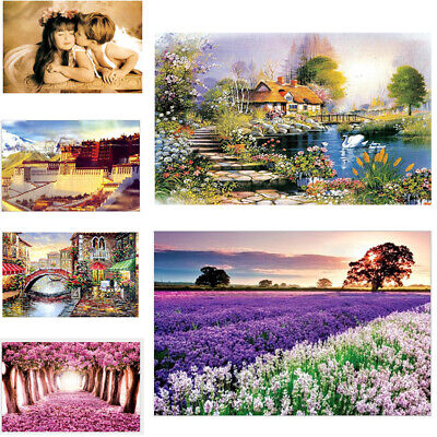 1000 Piece Jigsaw Puzzle Landscapes Decompression Game Toy Difficulty 70*50CM