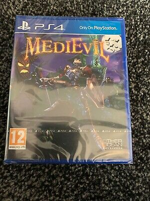 PlayStation 4 PS4 Game MediEvil NEW & SEALED