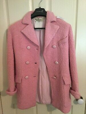 Valentino vintage pink coat. Made in Italy. Size 8
