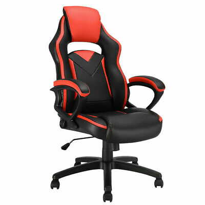 Gaming Chair Executive Office Chair Racing Style Desk Task Computer Chair Swivel