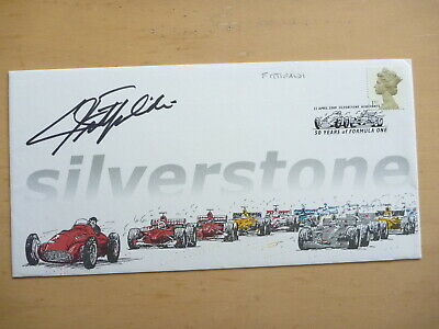 Emerson Fittipaldi signed Silverstone First Day cover. Nice bold autograph