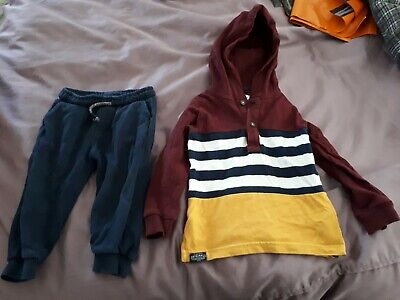 Marks & Spencers 18-24 Month Hoodie Top And Joggers