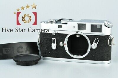 Excellent!! Leica M4 Silver Chrome 35mm Rangefinder Film Camera Body