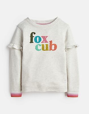 Joules Girls Tiana Mini Me Sweatshirt  - OAT MARL