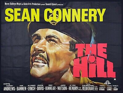 the hill 1965 prison/war drama sean connery dvd