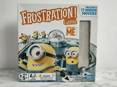 Frustration! Despicable Me Minion Made Board Game, Hasbro, 100% Complete, 5+