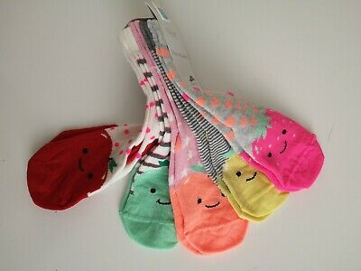 BNWT NEXT___5 pairs of socks girl shoe size 9-12