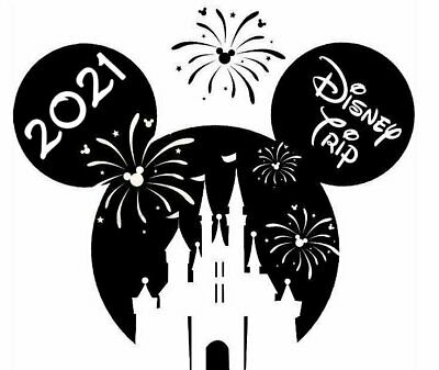 Mickey Mouse First Disney Trip Iron On Transfer Personalized DIY Trip Shirt FDT1