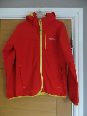 Age 11-12 Red Regatta Jacket with Hood