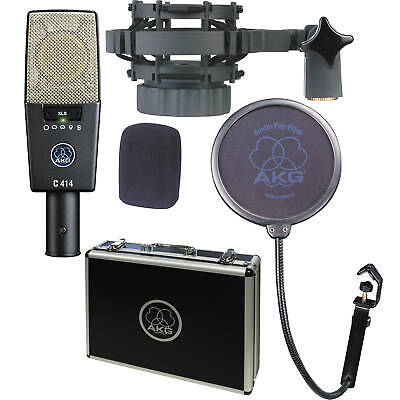 AKG C414 XLS Reference Multipattern Condenser Microphone (B-Stock)