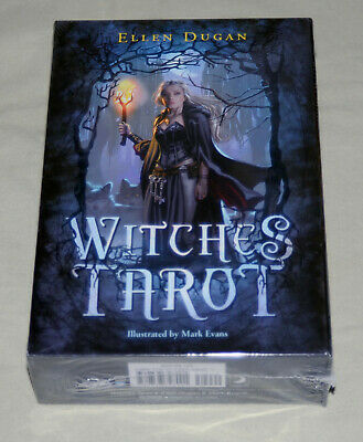 Witches Tarot Card Deck and Guidebook by Ellen Dugan ~~NEW & SEALED~~