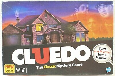 """""""CLUEDO"""" The Classic Mystery Game (Played Twice)"""