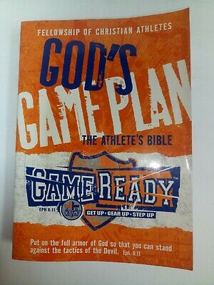 God's Game Plan - The Athlete's Bible, Fellowship of Christian Athletes.