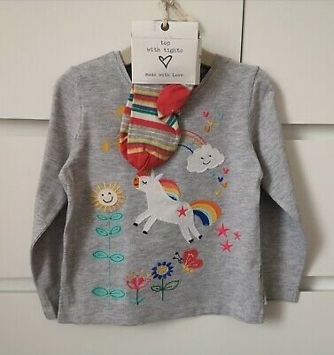 NEXT UNICORN___top with tights (new) set girl age 2-3 yrs