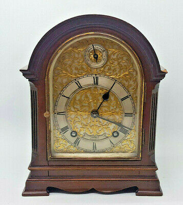 1890'S Antique Victorian Mahogany Clock Mantel Bracket