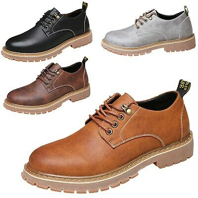 Smart Casual Oxford Brogues Trendy Mens Faux Leather Shoes UK 6-10