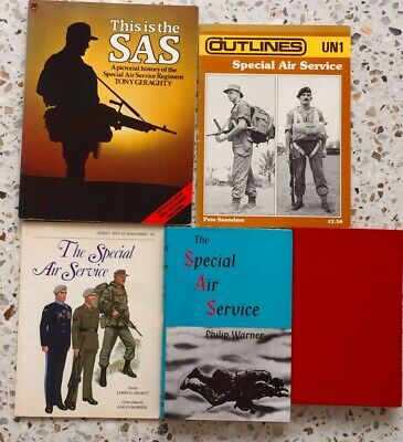 British SAS  & Special Forces incl Australian SAS - 5 Good Reference Books