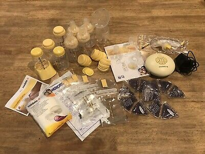 medela swing ,bottles and accessories